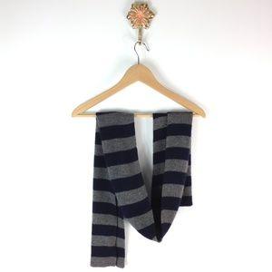 J. Crew striped scarf
